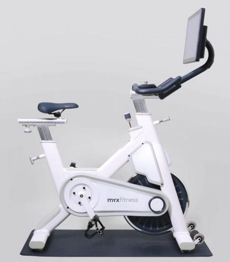 MYX fitness bike white
